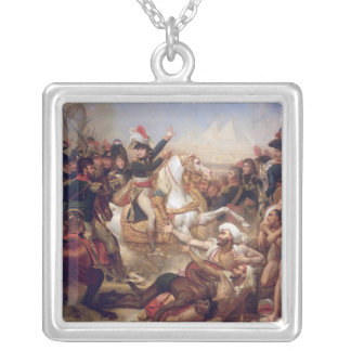 The Battle of the Pyramids, 21st July 1798 Silver Plated Necklace