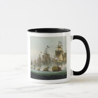 The Battle of Trafalgar, 21st October 1805, engrav Mug