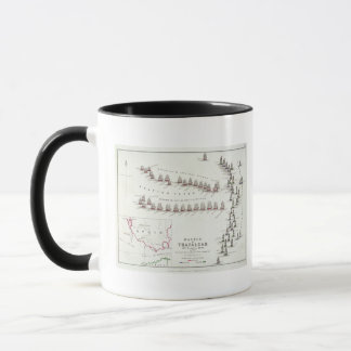 The Battle of Trafalgar, 21st October 1805, The Br Mug