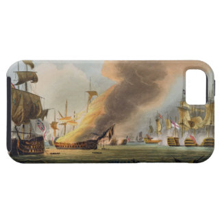 The Battle of Trafalgar, October 21st 1805, engrav iPhone 5 Cover