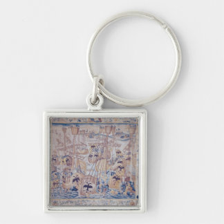 The Battle of Tunis or Lepanto Key Ring