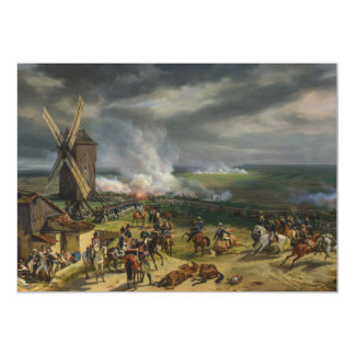 The Battle of Valmy by Jean-Baptiste Mauzaisse Personalized Invites