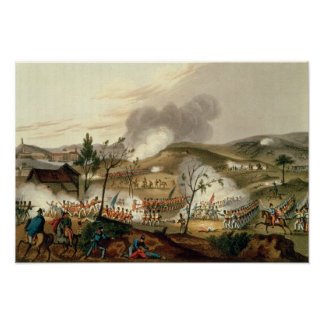 The Battle of Waterloo, 18 June 1815 Poster