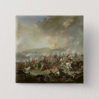 The Battle of Waterloo, 18th June 1815 15 Cm Square Badge