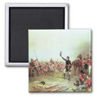 The Battle of Waterloo, 18th June 1815 2 Square Magnet