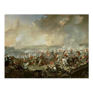 The Battle of Waterloo, 18th June 1815 Postcard