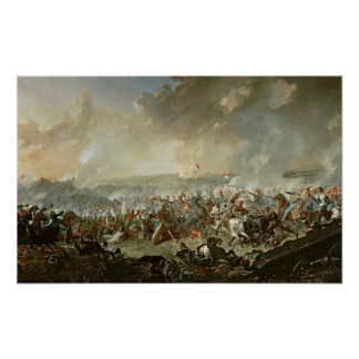 The Battle of Waterloo, 18th June 1815 Poster