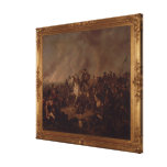 The Battle of Waterloo Canvas Print