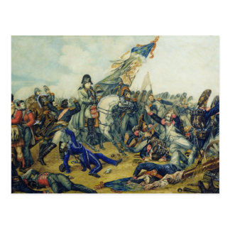 The Battle of Waterloo in 1815, 1831 Postcard