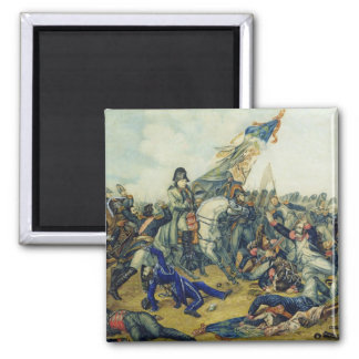 The Battle of Waterloo in 1815, 1831 Square Magnet