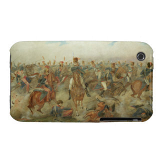 The Battle of Waterloo, June 18th 1815 (w/c on pap iPhone 3 Case