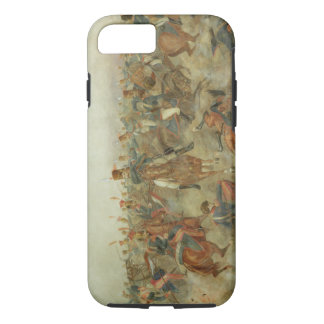 The Battle of Waterloo, June 18th 1815 (w/c on pap iPhone 8/7 Case