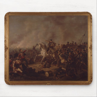 The Battle of Waterloo Mouse Pad