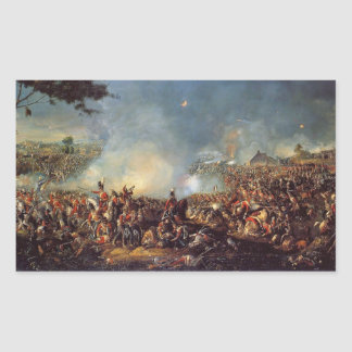 The Battle of Waterloo Rectangular Sticker