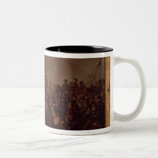 The Battle of Waterloo Two-Tone Coffee Mug