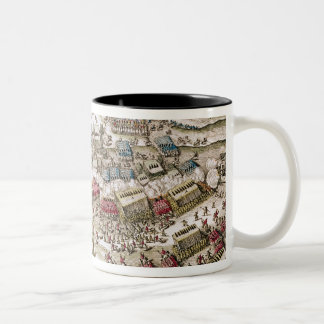 The Battle of White Mountain , 8th November 1620 Two-Tone Coffee Mug