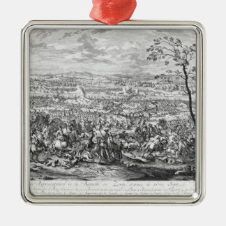 The Battle of Zenta, 1697 Christmas Ornament