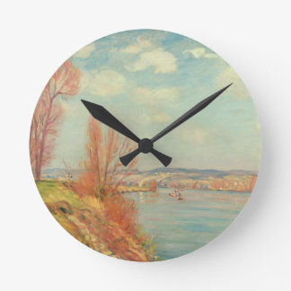 The Bay and the River, 1901 (oil on canvas) Clock