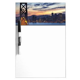 The Bay Bridge from Treasure Island Dry Erase Whiteboards