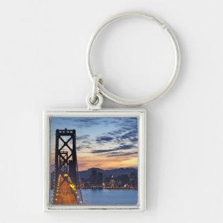 The Bay Bridge from Treasure Island Key Ring