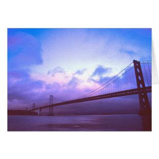 The Bay Bridge Greeting Card