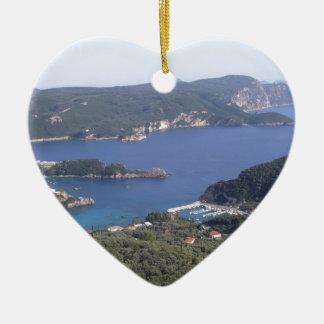 The Bay Ceramic Heart Decoration