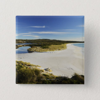 The Bay of Fires on Tasmania's East Coast 15 Cm Square Badge