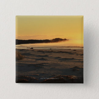 The Bay of Fires on Tasmania's East Coast 2 15 Cm Square Badge