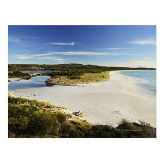 The Bay of Fires on Tasmania's East Coast Postcard