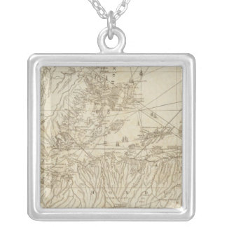 The Bay of Honduras Silver Plated Necklace
