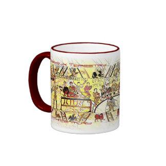 The Bayeux Tapestry-11th Century Ringer Mug