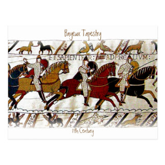 The Bayeux Tapestry Postcard