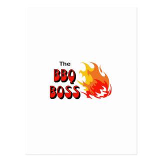 THE BBQ BOSS POSTCARD