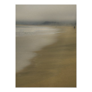 The Beach 14 Cm X 19 Cm Invitation Card