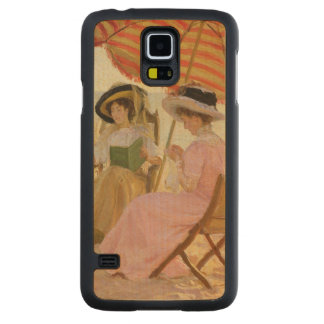 The Beach, 1929 Carved Maple Galaxy S5 Case