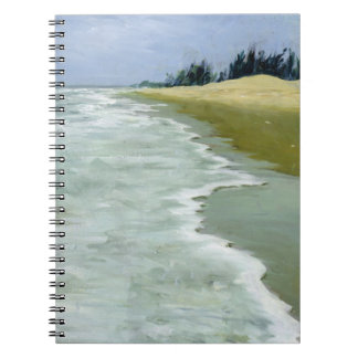 The Beach 2004 Spiral Notebook