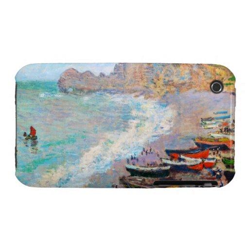 The Beach at Etretat Claude Monet iPhone 3 Case-Mate Cases