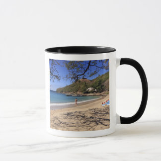 The beach at Pigeon Island National Park Mug