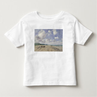 The Beach at Tourgeville, 1893 Toddler T-Shirt