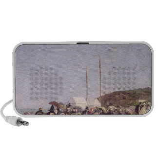 The Beach at Trouville, 1864 Mp3 Speaker