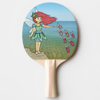 The Beach Fairy Ping Pong Paddle