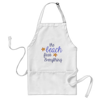 The Beach Fixes Everything Standard Apron