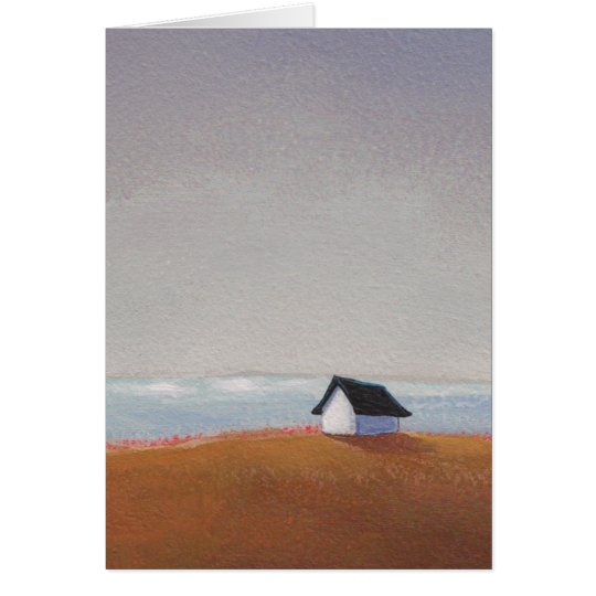 The Beach House - pretty seaside art CUSTOMIZE