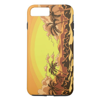 The beach iPhone 8 plus/7 plus case