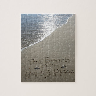 The Beach is my Happy Place Jigsaw Puzzle