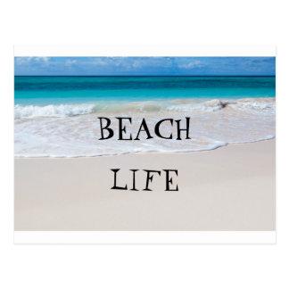 The Beach Life Postcard