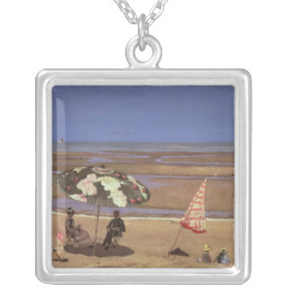 The Beach Silver Plated Necklace
