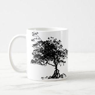 The Beach Tree Of Life Coffee Cup Basic White Mug