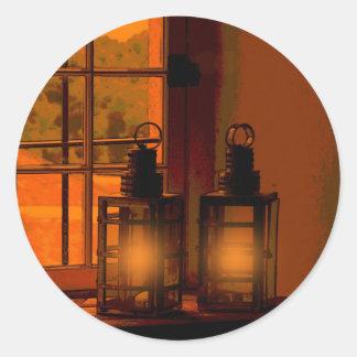 The Beacon's Light Round Sticker