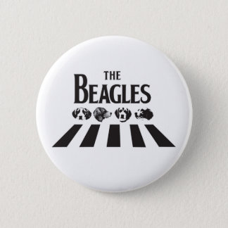 The Beagles 6 Cm Round Badge